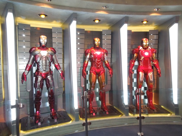 Iron Man Hall of Armour Disneyland