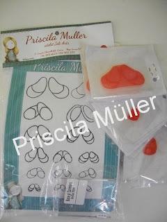 Meninas este é o kit de carimbos de olhinhos que desenvolvi para