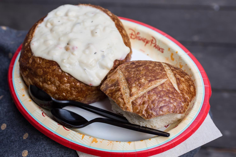 disneyland clam chowder bowl