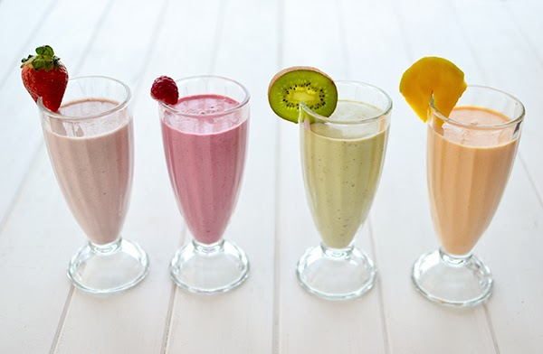 Cuatro sencillos batidos de frutas naturales la chica de - Batidos de frutas ...