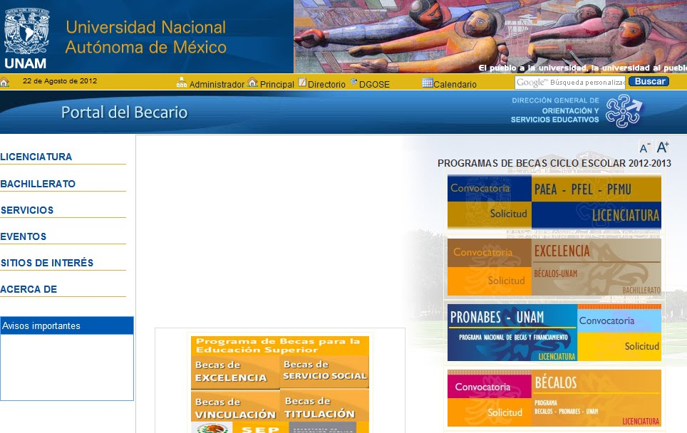 Inscripcion Prepa Si Becas 2012 calendario registro