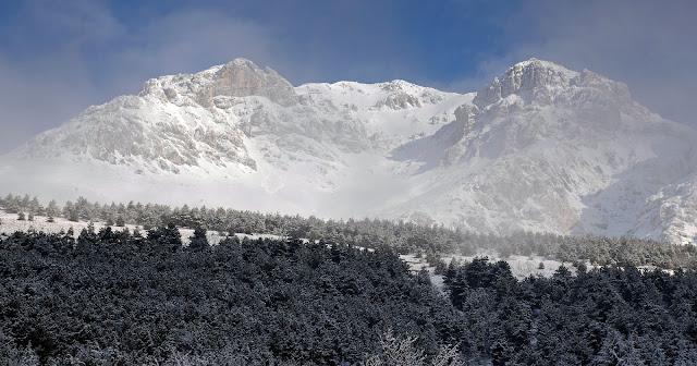 Monte Velino visto da Massa d'Albe