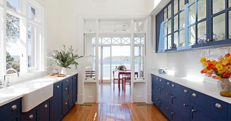 Hemmets nyanser: Blått kök
