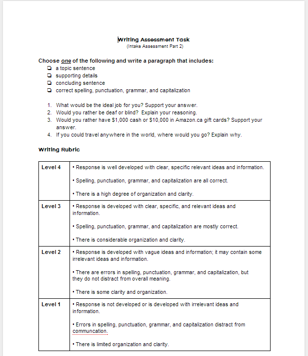 bsbwrt301a assessment task 03 Fskdig03 use digital technology for routine workplace tasks industry  awareness  there is a mix of formative and summative assessment tasks  methods of.