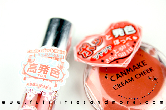 Japan Cosmetics Haul, Canmake and Koji Dolly Wink