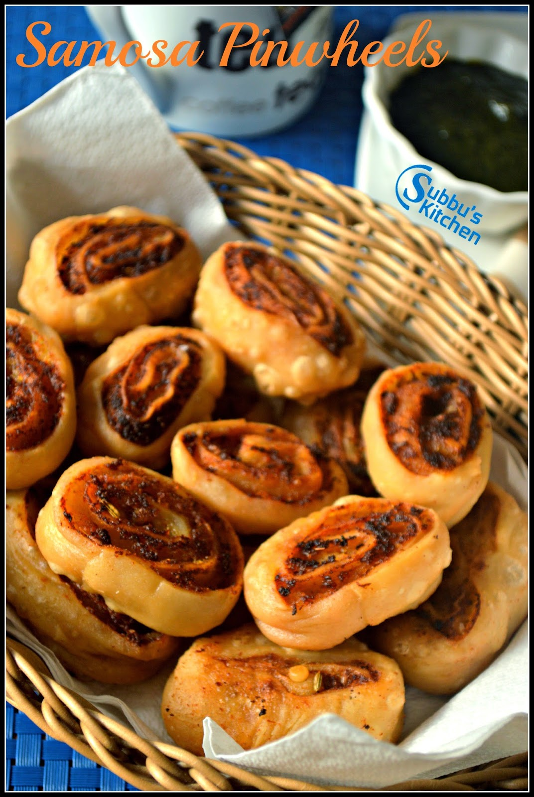 Samosa Pinwheels Recipe, Samosa Bites Recipe, How to make Samosa Pinwheels, Easy Samosa Recipes