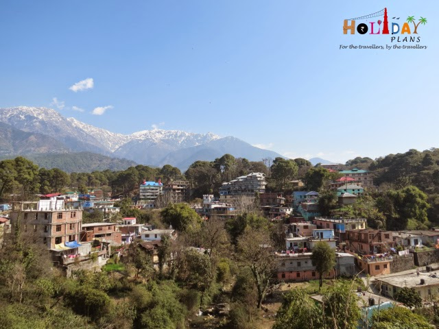 Palampur as seen from our hotel's balcony