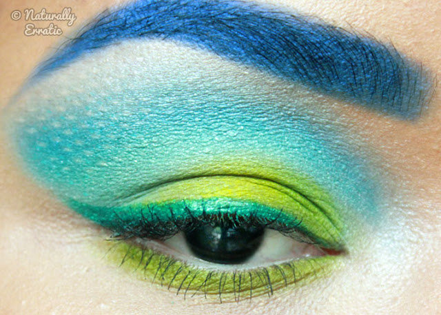 The Hunger Games Makeup, Makeup Blog, Sugarpill Makeup, District 4 Makeup, Finnick