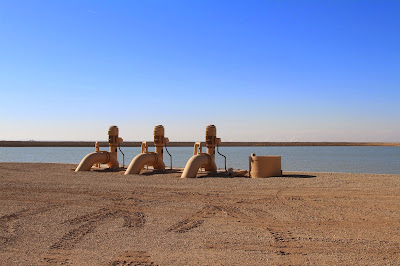 Pumps at the Bernard Galleano Reservoir