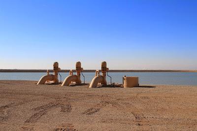 Pumps at the Bernard Galleano Reservoir