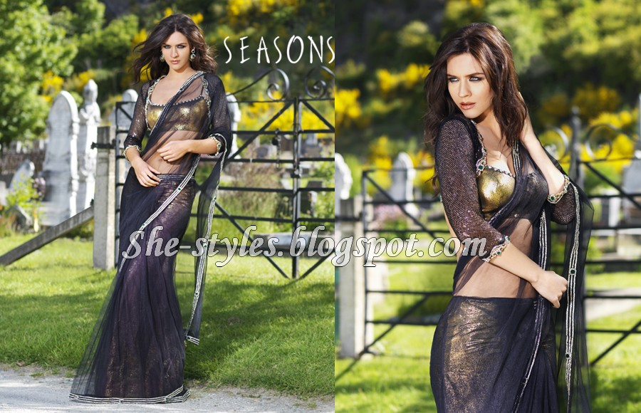 Indian Designer Saris | Seasons India Fashion Saree Collection 2012