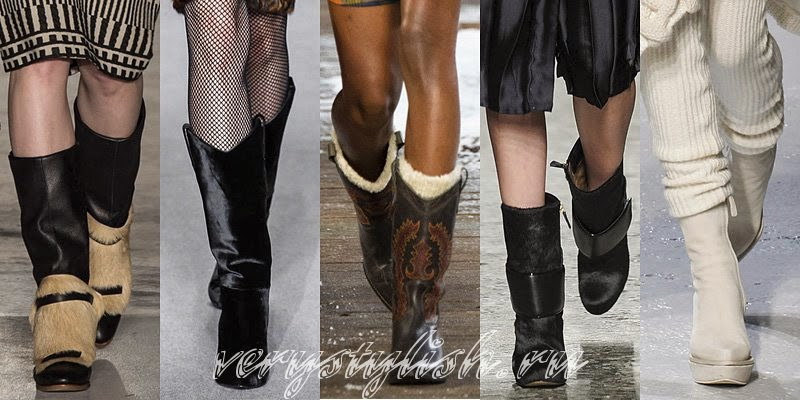 Winter 2015 Women's Ankle Boots Fashion Trends