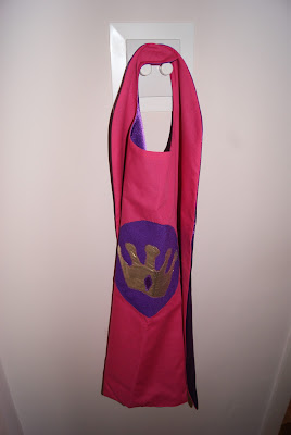 Pink Princess Super Hero Cape