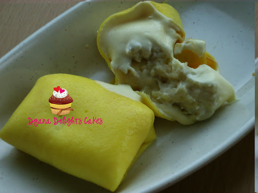 HOT N NEW..CREPE DURIAN