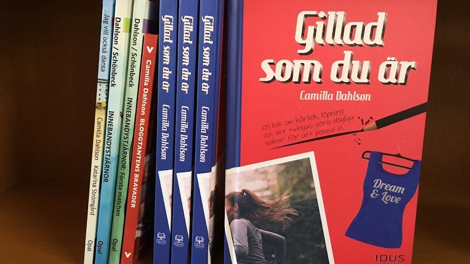 Författarblogg för Camilla Dahlson