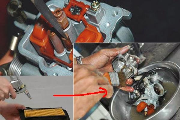 Tips Dan Cara Mudah Membersihkan Karburator Motor
