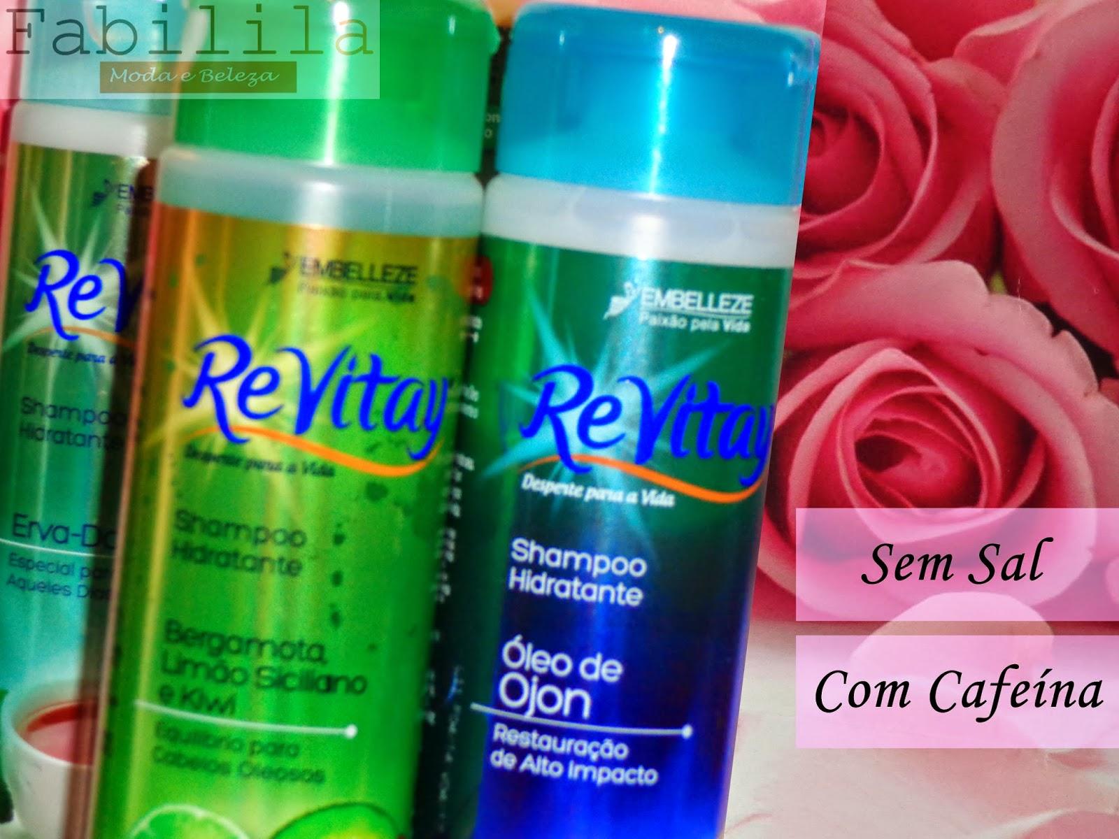 Shampoos ReVitay Embelleze
