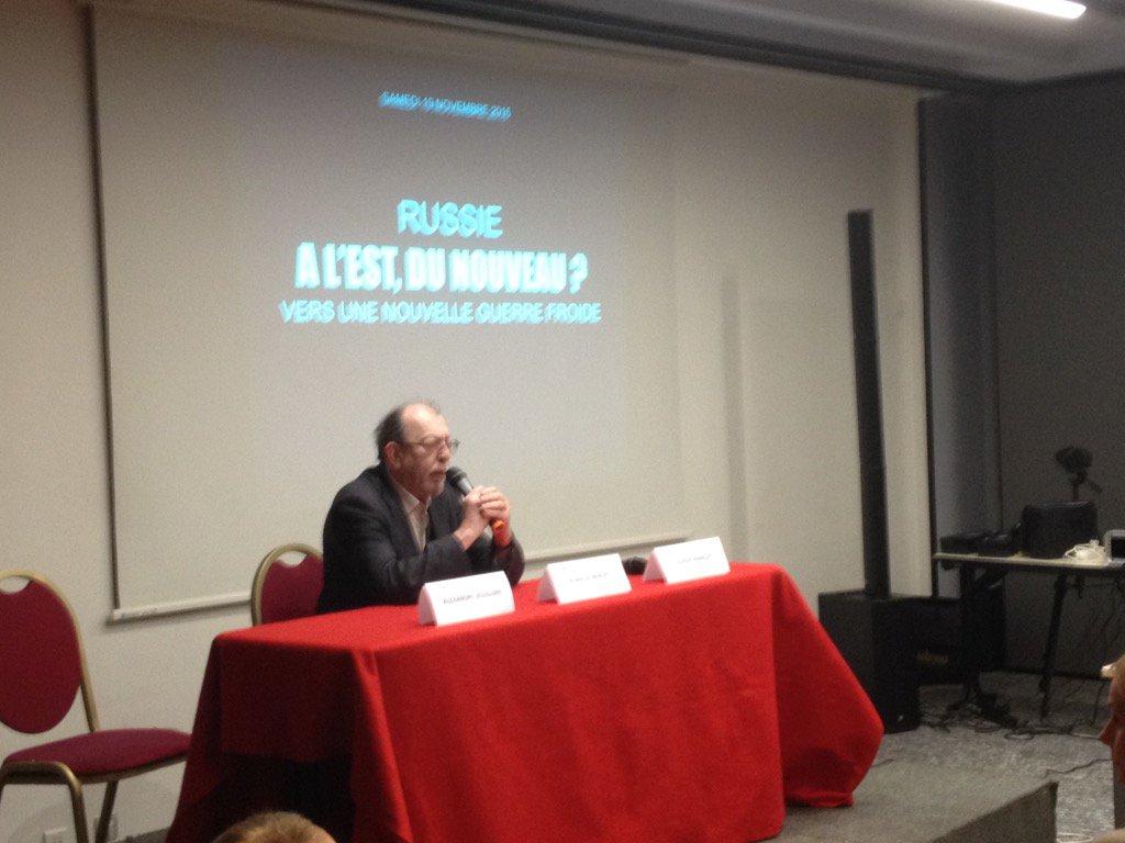 Alain de Benoist, colloque Eléments, 19 novembre 2016