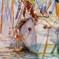 'Embarcacions blanques (John Singer Sargent)'