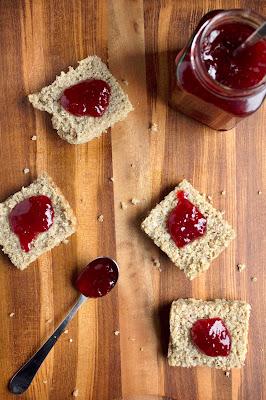 Baked Cinnamon Quinoa with jam