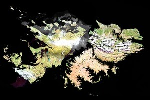 Mapa Interactivo de las Islas Malvinas