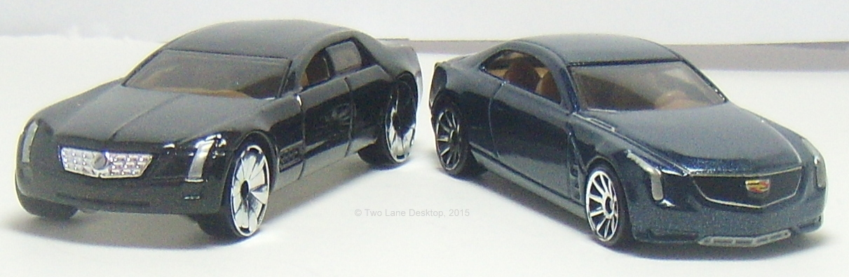 Hot Wheels Cadillac Elmiraj And Sixteen Concept Cars Two Lane Desktop