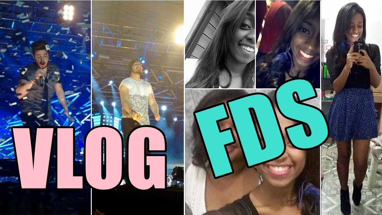 Vlog de domingo, show do luan santana em Campo Belo, Falsete Fail, etc.