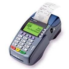 restaurant credit card machine