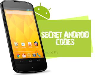 mengetahui berbagai kode yang tersimpan pada gadget android