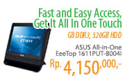 ASUS All-in-One EeeTop 1611PUT