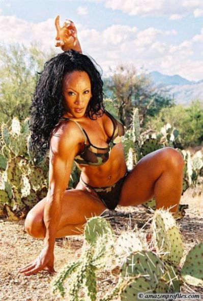 Kathy Johansson - Female Bodybuilder