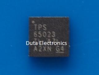 Jual Komponen ELektronik TPS65023RSBR (IC) - QFN-14 PIN