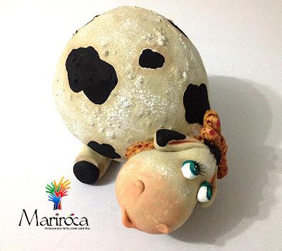 Vaca | Artesanato em cabaça