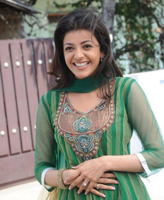 Kajal Agarwal Cute Smile