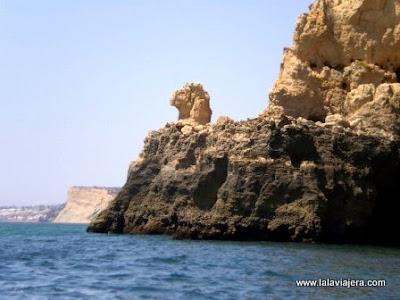 Esfinge, Grutas Lagos, Algarve Portugues