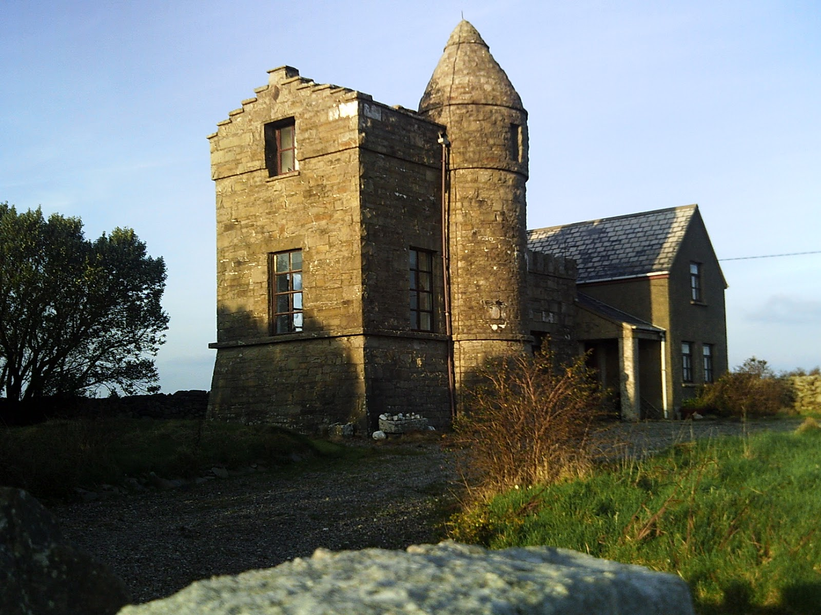 A house with history attached mullaghmore heritage notes - The house in the old franciscan tower ...