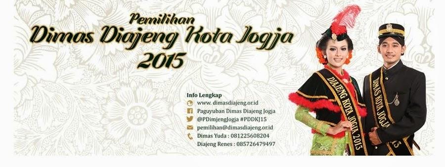 Pemilihan Dimas Diajeng Kota Yogyakarta 2015