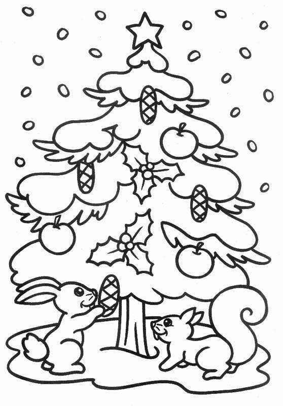 Dibujos para imprimir y colorear navidad para colorear - Dibujos navidad en color ...