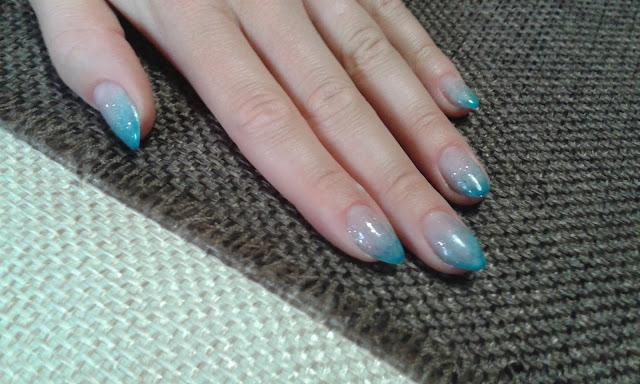 degradè unghie
