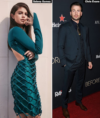 'He's very cute': Single Selena Gomez reveals crush on Captain America star Chris Evans
