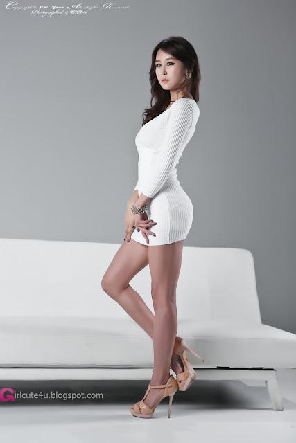 4 Seo Yoon Ah in White -Very cute asian girl - girlcute4u.blogspot.com