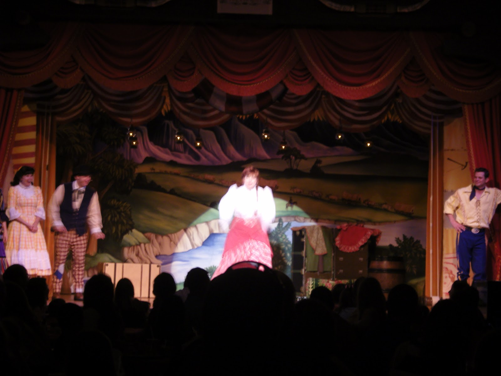 The nifty thrifty family goes disney hop dee doo musical for Nifty family
