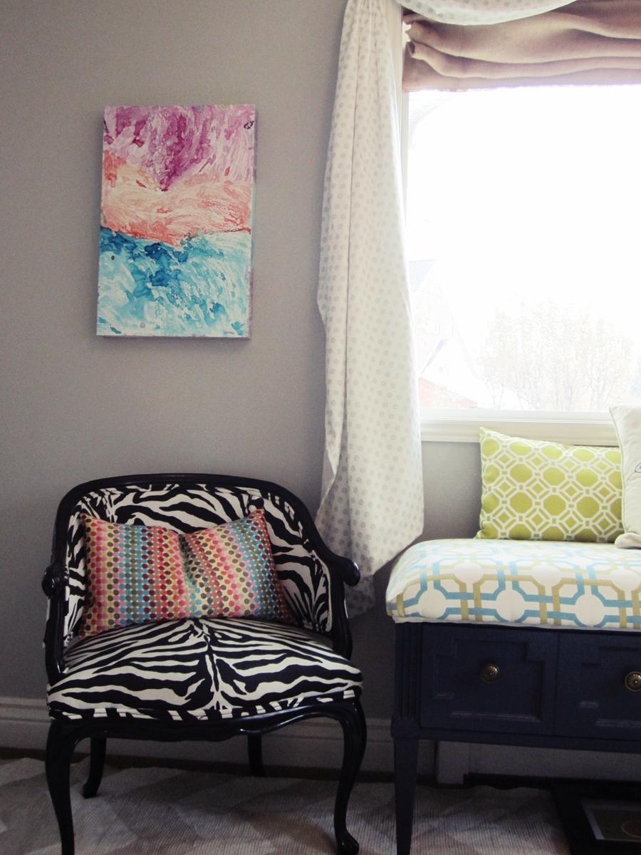 smartgirlstyle master bedroom makeover wall art