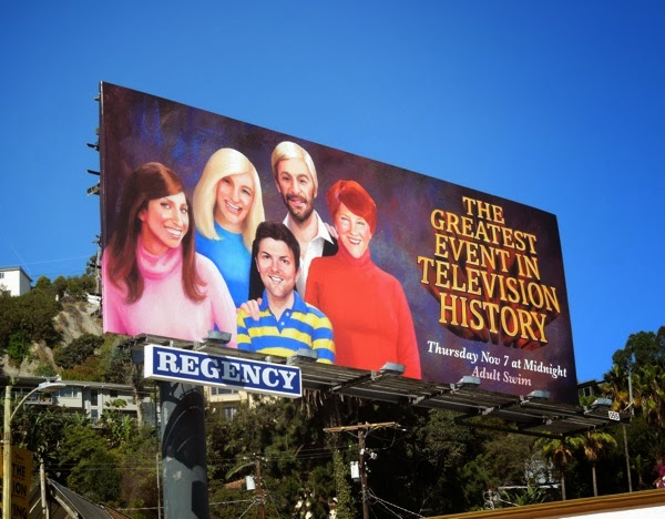 Greatest Event TV History Too Close For Comfort parody billboard
