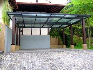 Harga canopy rumah minimalis dari baja ringan