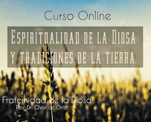 """CURSO ONLINE """"Espiritualidad de la Diosa y Tradiciones de la Tierra"""""""