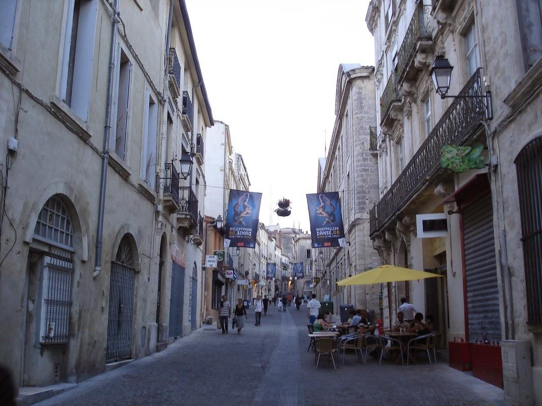 I viaggi di raffaella montpellier antica citt universitaria for Montpellier citta