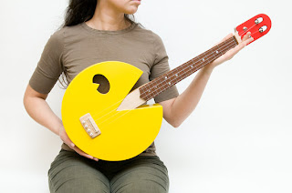 pacman ukulele