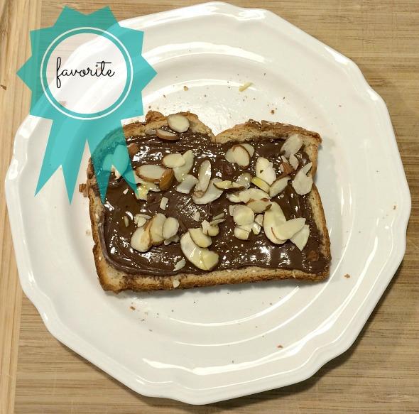 Nutella Almond Toast | www.shealennon.com
