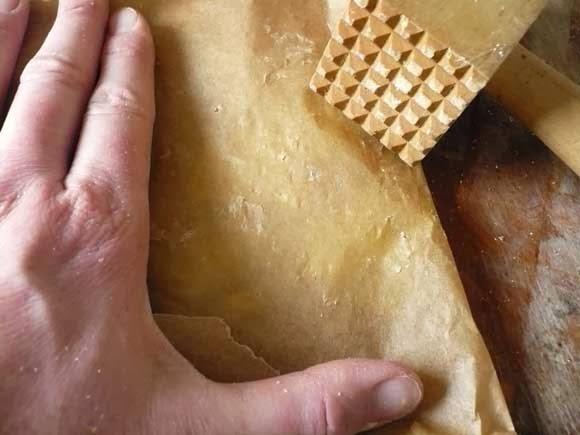 Glas in lood koekjes met zuurtjes
